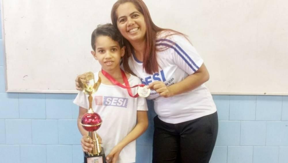 Aluno do SESI vence torneio de matemática em Altamira