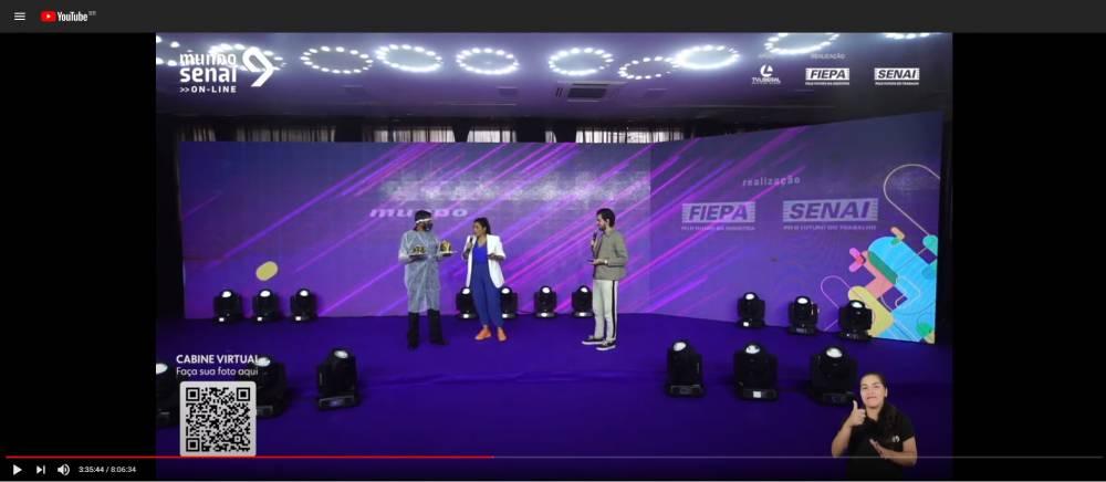 Assista ao evento completo da Mega Live do Mundo SENAI