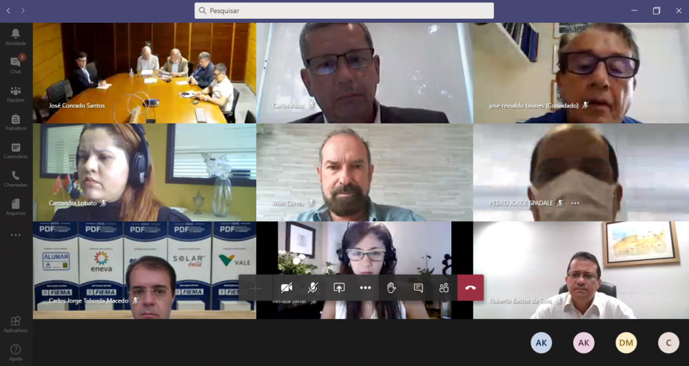 Reunião virtual tratou sobre a exploração de petróleo e gás no Pará e Maranhão