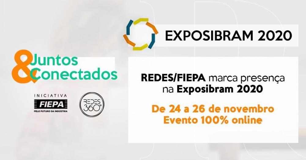 REDES/FIEPA promove oportunidades de negócios na Exposibram 2020