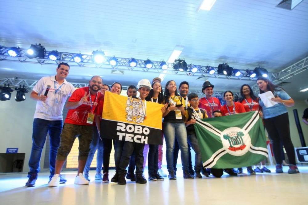 Escolas do SESI Pará têm equipes classificadas para etapa nacional da Olimpíada Brasileira de Robótica