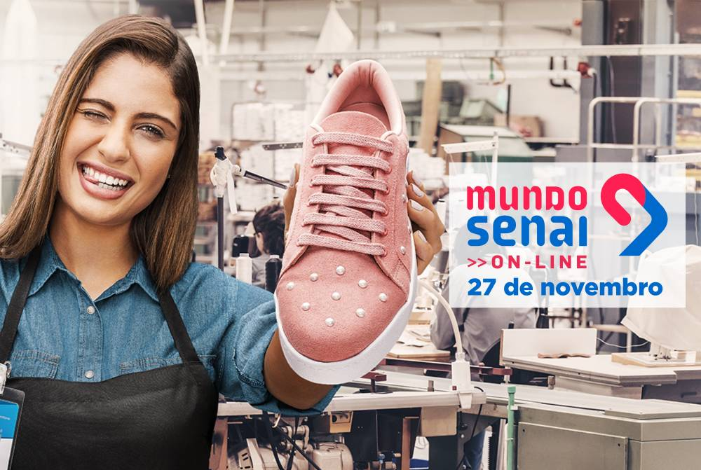 MUNDO SENAI 2020 TRAZ PROGRAMAÇÃO 100% ON-LINE