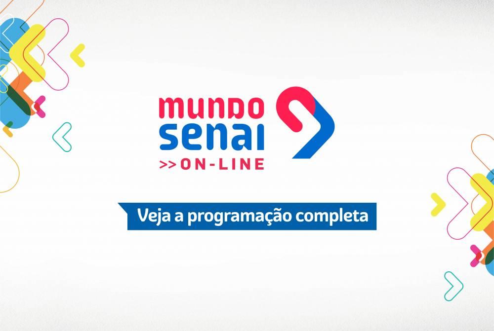 Programação completa da Mega Live do Mundo SENAI Pará