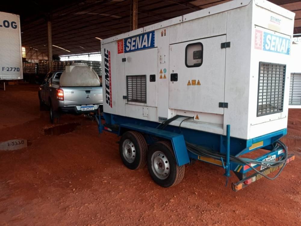 SENAI Pará envia geradores de energia para Macapá