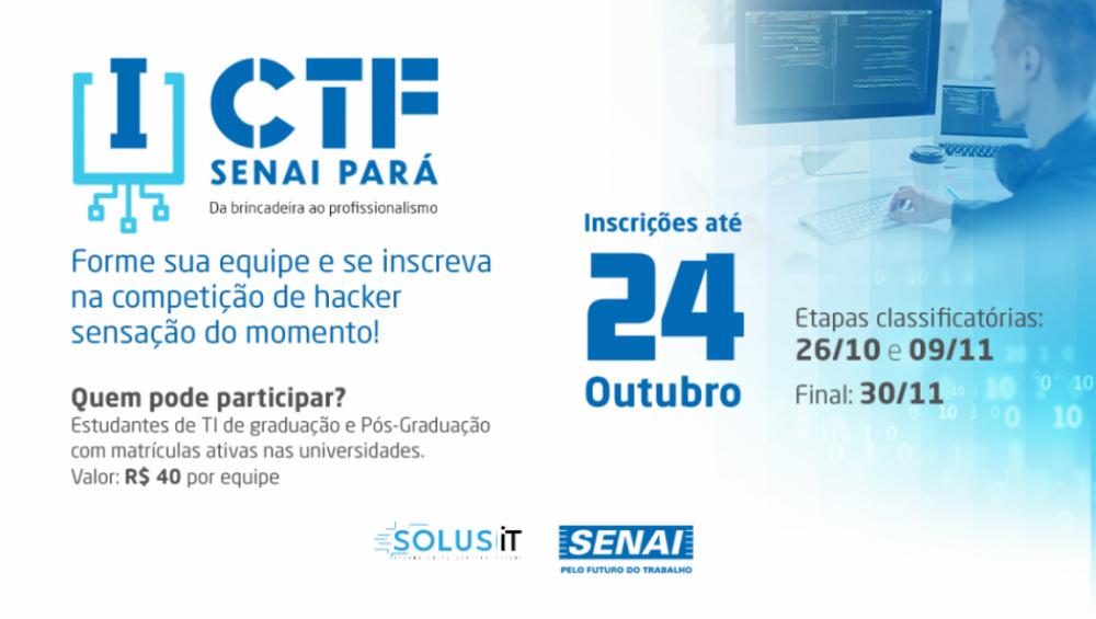 Competição hacker está com inscrições abertas para estudantes de TI