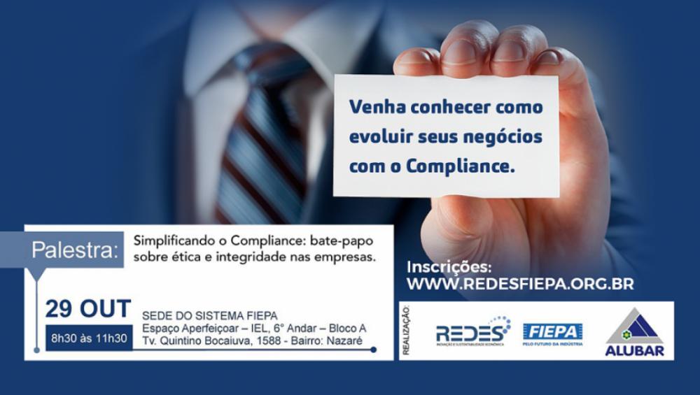 Iniciativa da REDES e Alubar compartilhará conhecimentos sobre ética e integridade nas empresas