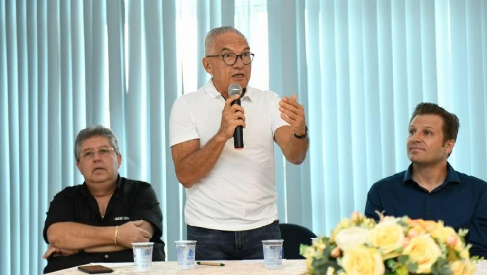 Comitiva apresenta projeto de construção do SESI/SENAI em Parauapebas