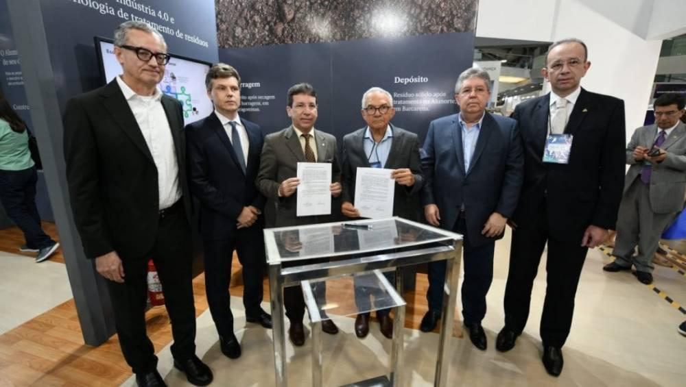 A Alunorte e o Instituto SENAI de Inovação fecham parceria para estudos de aproveitamento de resíduos de bauxita