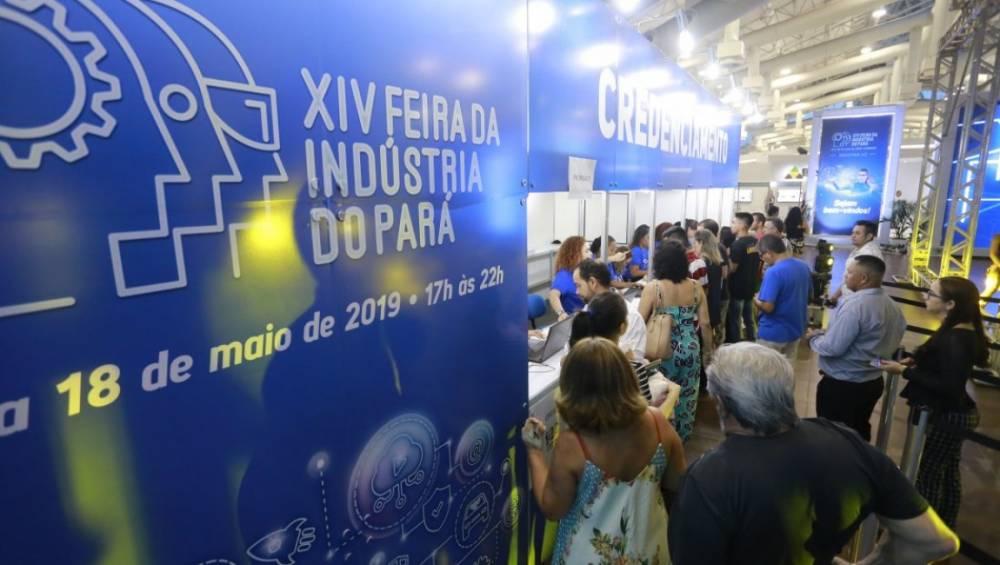 Mais de 27 mil visitantes prestigiam a XIV Feira da Indústria