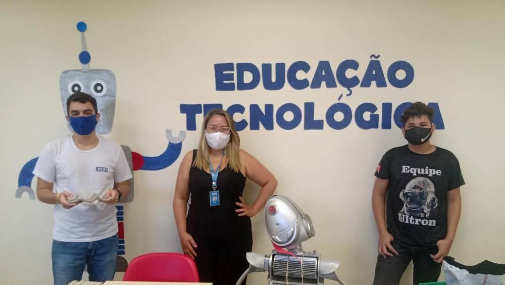 Alunos da Escola SESI Marabá vencem mostra científica