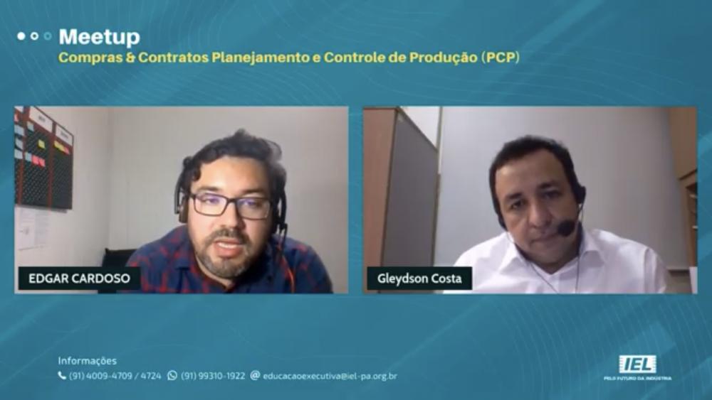 MeetUp de Compras & Contratos e de Planejamento e Controle de Produção (PCP)