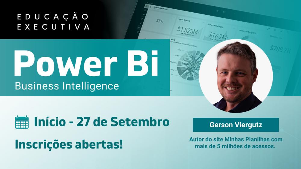 IEL promove Curso de Power BI – Business Intelligence