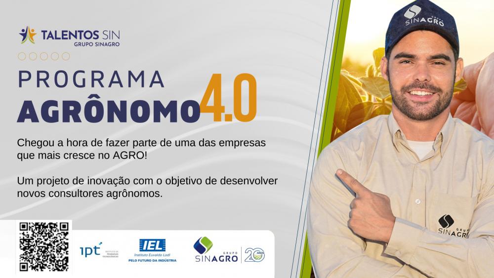 IEL Pará inscreve bolsista para atuar na Sinagro, em Redenção